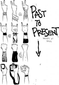 Concert-Hands-Evolution-From-the-1960s-to-2010